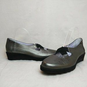 Mephisto Cecile Leather Mary Jane Pump Shoes